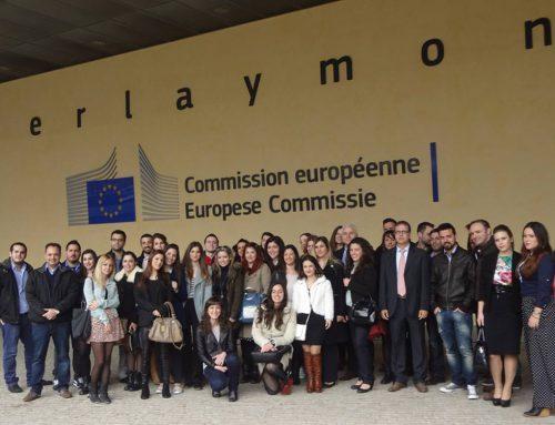 Επίσκεψη στην Ευρωπαϊκή Επιτροπή στις Βρυξέλλες